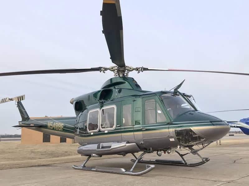 Exterior del Bell 412EP