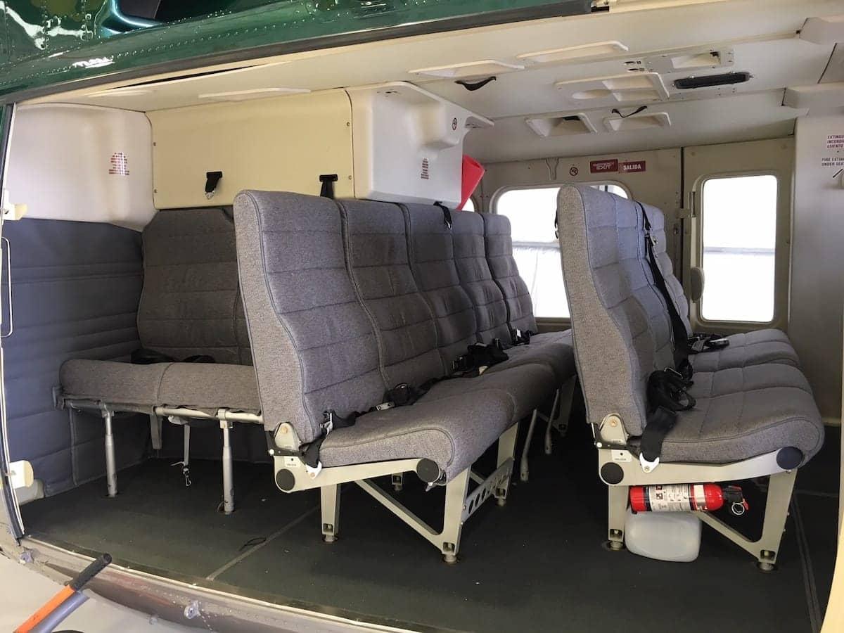 Interior del Bell 412EP