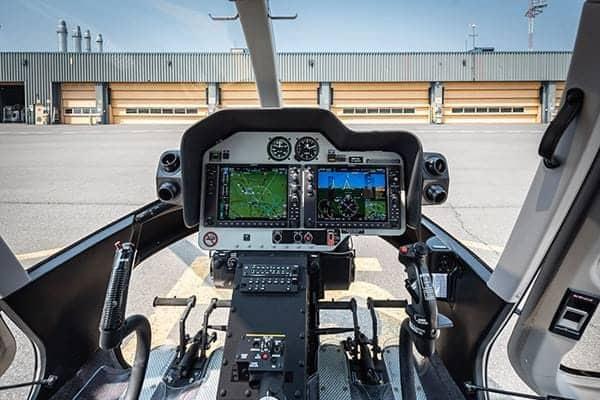 Pantallas de Bell 407