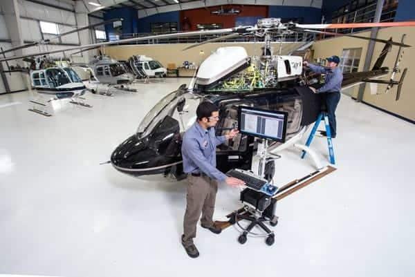 Bajo costo de propiedad del Bell 407