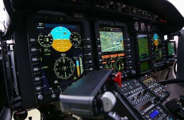 Pantallas intuitivas del Bell 429