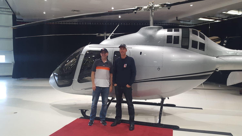 Entrega del Bell505