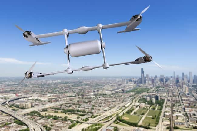 Bell APT en vuelo