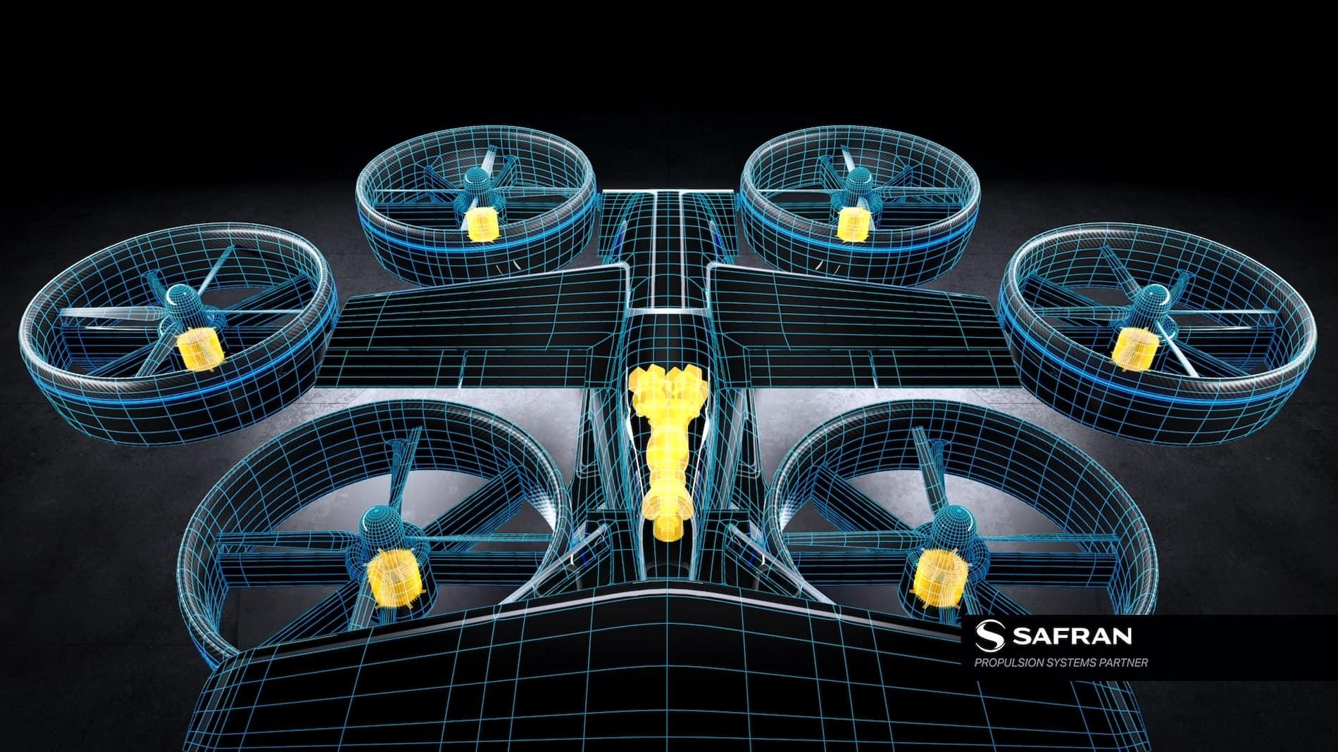 Bell Nexus - Circuito Safran