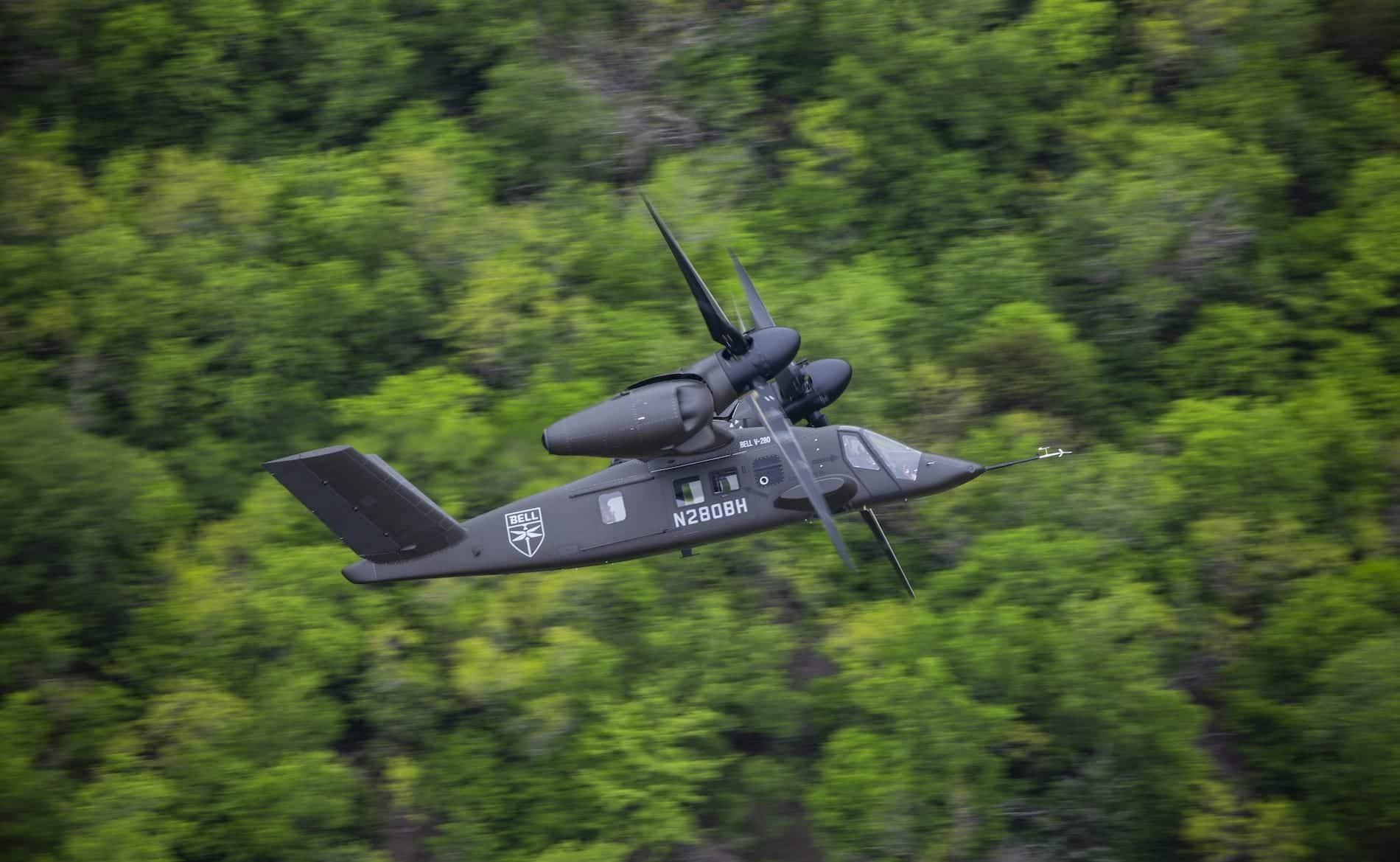 Vuelo aire a aire Bell V-280 15 de abril de 41