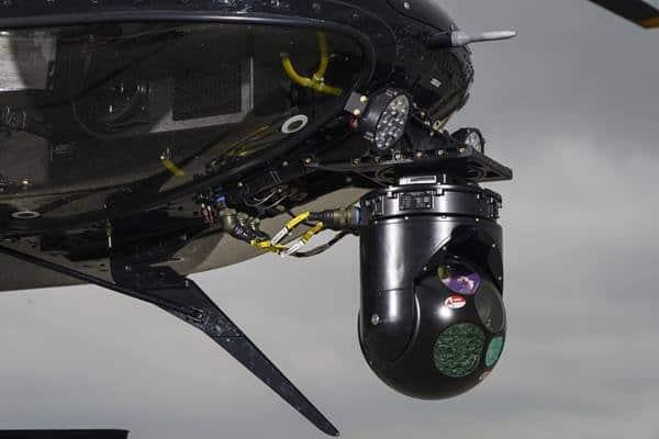 Aeronave de demostración 407M armada por Bell 11