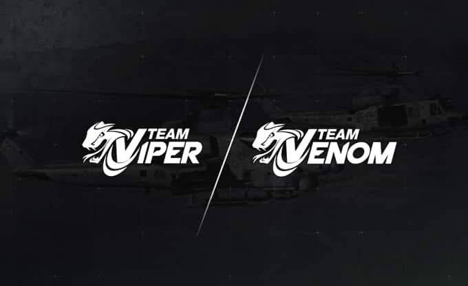 Logos del equipo Viper / Venom