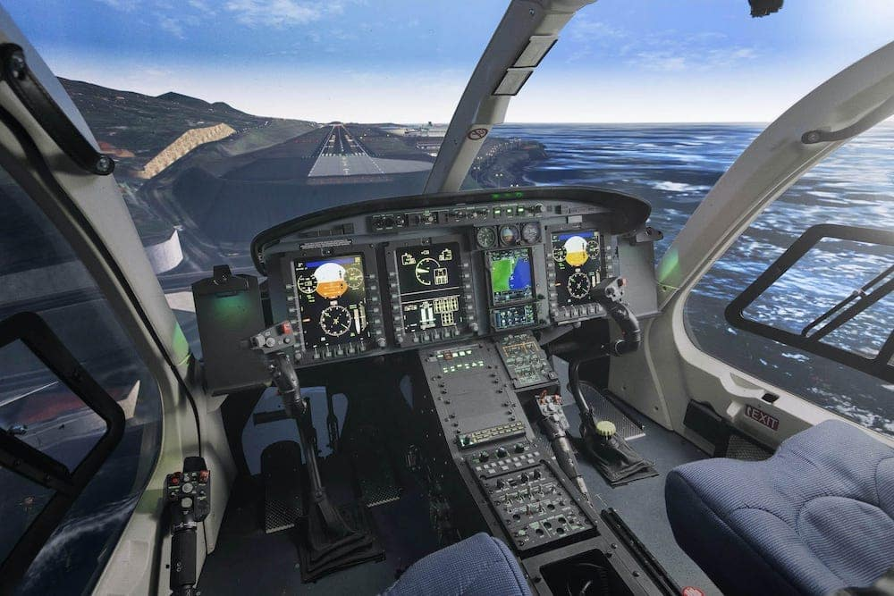 Simulador de aeronave Bell 429
