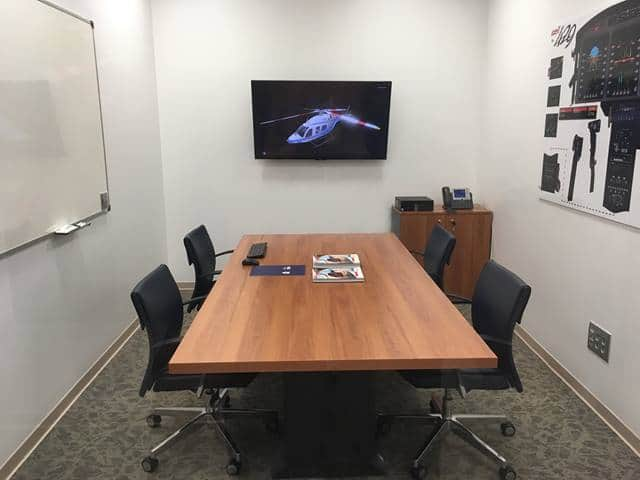 Sala de reuniones informativas